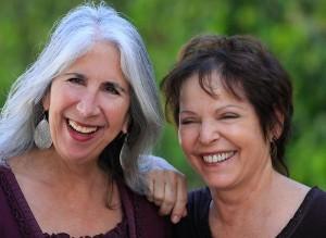 Delia Horwitz and Paula Vigneault