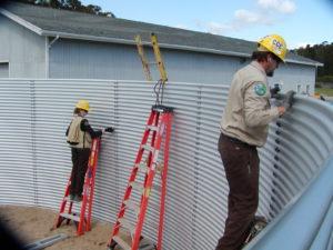 Building Rainwater Harvesting Tank
