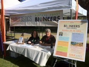 Central Coast Bioneers Booth
