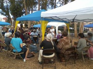 Central Coast Bioneers Drumming Session