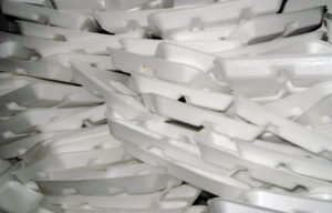 Styrofoam Take Out Containers