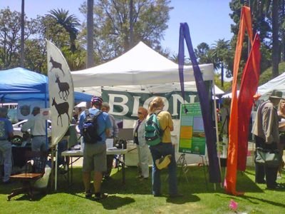 Ecologistics Earth Day Booth - 2012 Santa Barbara