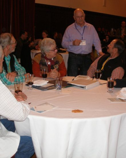San Luis Obispo County Supervisor Frank Mecham with Salinas River Symposium Participants