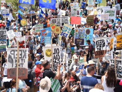 Break Free LA Marchers - May 7, 2016 - Photo Don't Frack CA
