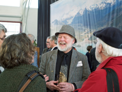 Dave Foreman, Ted Hamilton, Stacey Hunt, Michael Jencks at Doug Tompkins Tribute January 31, 2016